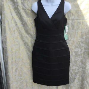NWT American Living size 4 black bond girl dress